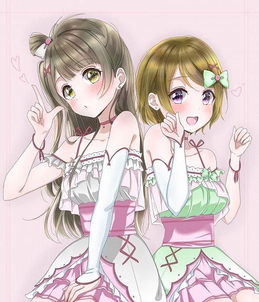 Tags: Anime, Pixiv Id 39607234, Love Live!, Minami Kotori, Koizumi Hanayo, Pixiv, Fanart From Pixiv, Fanart