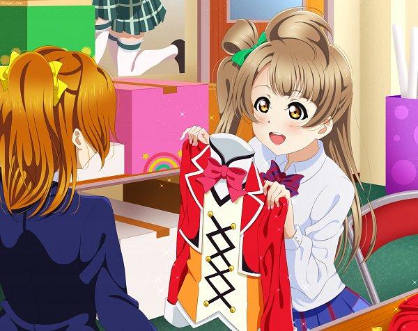 Tags: Anime, Pixiv Id 12163732, Love Live!, Minami Kotori, Kousaka Honoka, Fanart From Pixiv, Fanart, Pixiv