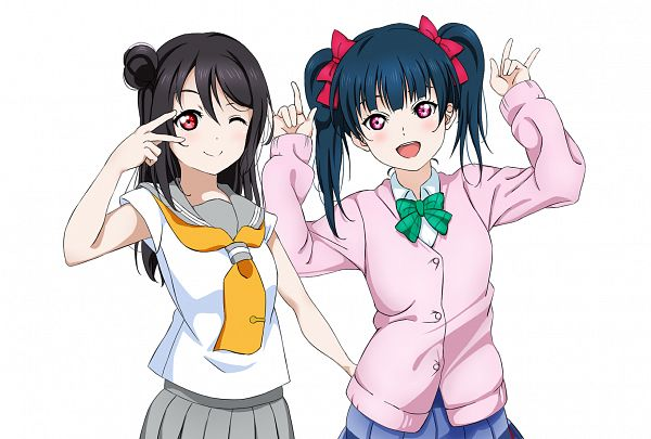 Tags: Anime, Pixiv Id 20727936, Love Live!, Love Live! Sunshine!!, Yazawa Niko, Tsushima Yoshiko, Yazawa Niko (Cosplay), Love Live! (Cosplay), Tsushima Yoshiko (Cosplay), Pixiv