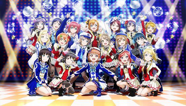 Tags: Anime, KLab, Love Live! Sunshine!!, Love Live!, Love Live! School Idol Festival ALL STARS, Toujou Nozomi, Tsushima Yoshiko, Yazawa Niko, Takami Chika, Sonoda Umi, Watanabe You, Kousaka Honoka, Kurosawa Ruby