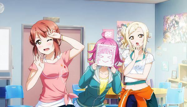 Tags: Anime, KLab, Love Live! Sunshine!!, Love Live! Nijigasaki Gakuen School Idol Doukoukai, Love Live!, Love Live! School Idol Festival ALL STARS, Sonoda Umi, Uehara Ayumu, Nishikino Maki, Ayase Eri, Yazawa Niko, Tsushima Yoshiko, Hoshizora Rin