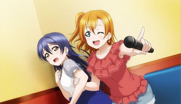 Tags: Anime, KLab, Love Live!, Love Live! School Idol Festival ALL STARS, Kousaka Honoka, Sonoda Umi, CG Art
