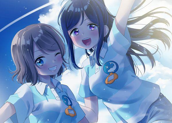 Tags: Anime, Pixiv Id 2946956, Love Live! Sunshine!!, Watanabe You, Matsuura Kanan