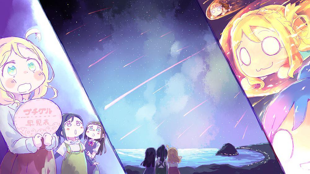 Tags: Anime, Nekokun, Love Live! Sunshine!!, Ohara Mari, Kurosawa Dia, Matsuura Kanan