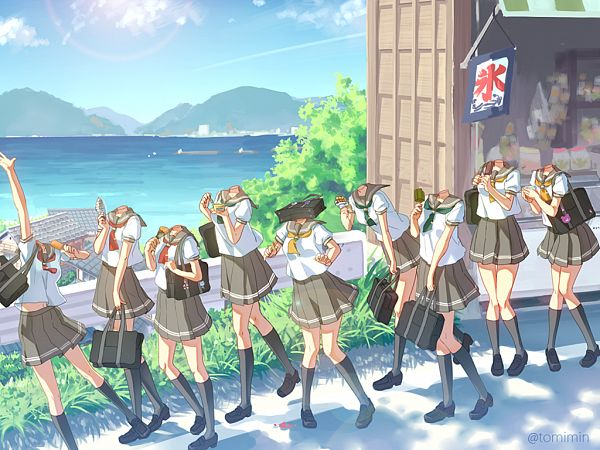 Tags: Anime, Kirliaswap, Love Live! Sunshine!!, Takami Chika, Watanabe You, Kurosawa Ruby, Kurosawa Dia, Ohara Mari, Matsuura Kanan, Kunikida Hanamaru, Sakurauchi Riko, Tsushima Yoshiko, deviantART
