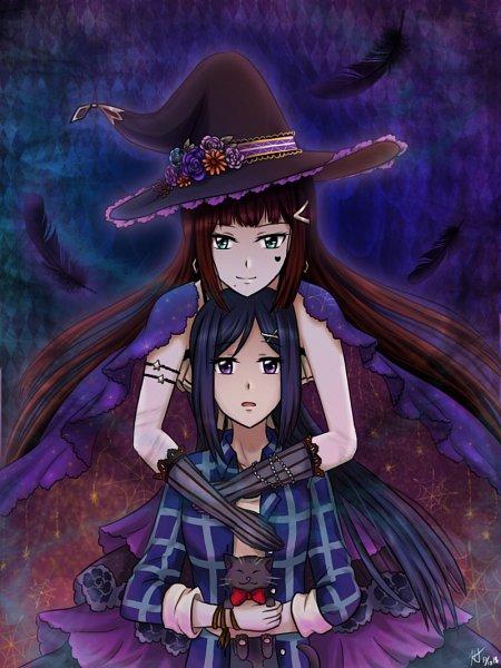 Tags: Anime, Pixiv Id 805167, Love Live! Sunshine!!, Kurosawa Dia, Matsuura Kanan, Fanart From Pixiv, Pixiv, Fanart
