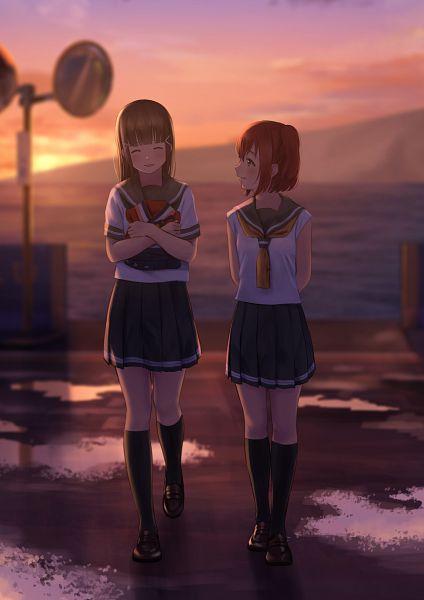 Tags: Anime, Pixiv Id 5778244, Love Live! Sunshine!!, Kurosawa Dia, Kurosawa Ruby, Fanart, Fanart From Pixiv, Pixiv