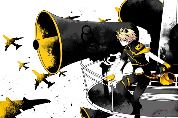 Tags: Anime, Star Rabbit, VOCALOID, USee, Yellow Gloves, Love is War
