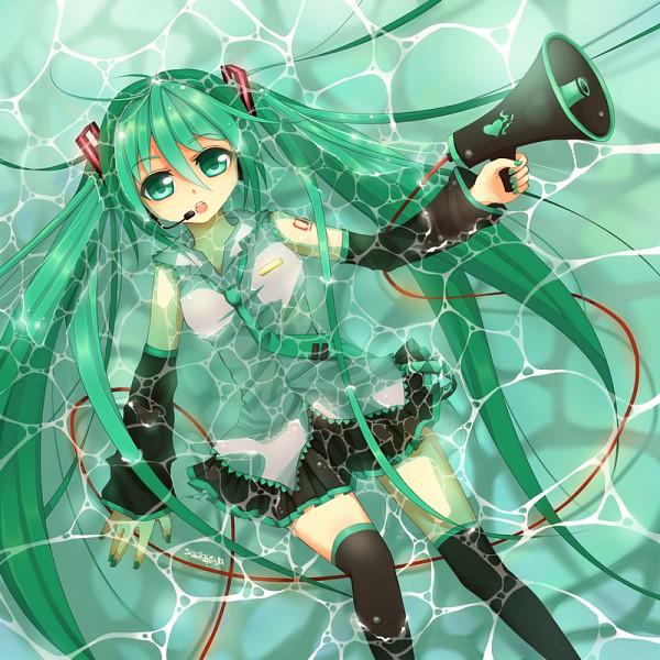 Tags: Anime, Saphirya, VOCALOID, Hatsune Miku, Love is War, Fanart, Pixiv