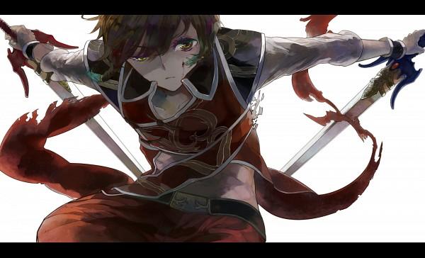 Tags: Anime, Pixiv Id 2656113, Dynasty Warriors, Lu Xun, Wallpaper, HD Wallpaper, Fanart, Pixiv