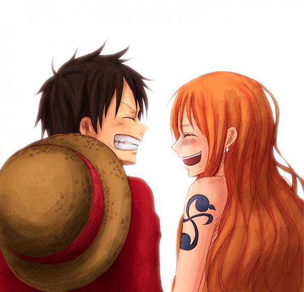 Tags: Anime, KION, ONE PIECE, Monkey D. Luffy, Nami (ONE PIECE), Fanart From Pixiv, One Piece: Two Years Later, Fanart, Pixiv, LuNa (Pairing)