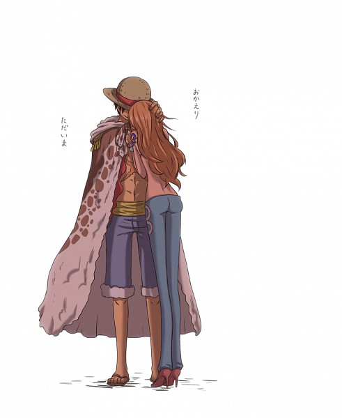 Tags: Anime, Pixiv Id 2261414, ONE PIECE, Monkey D. Luffy, Nami (ONE PIECE), Leopard Print, Pixiv, One Piece: Two Years Later, Fanart, Straw Hat Pirates, LuNa (Pairing)