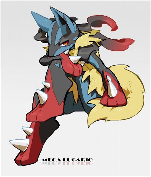 Tags: Anime, Pixiv Id 1088745, Pokémon, Lucario, Fanart, Fanart From Pixiv, Pixiv, Mega Form (Pokémon)