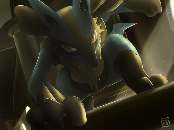 Tags: Anime, Pokémon, Lucario