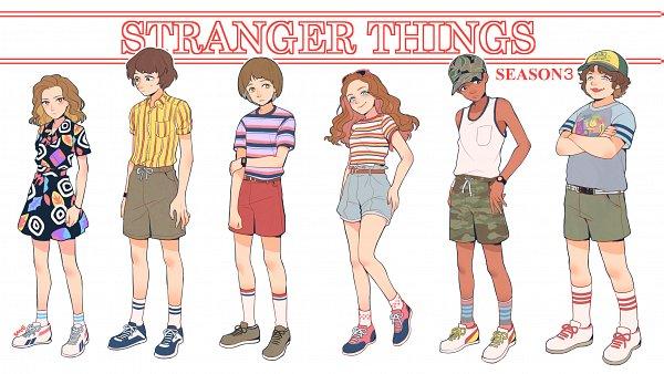 Lucas Sinclair (Sinclair Lucas) - Stranger Things