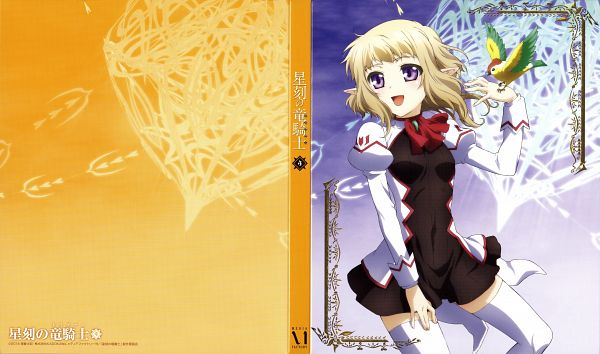 Tags: Anime, Sasaki Mutsumi (Bee Train), C-Station, Seikoku no Dragonar, Lucca Sarlinen, Official Art, Scan, DVD (Source), Wallpaper