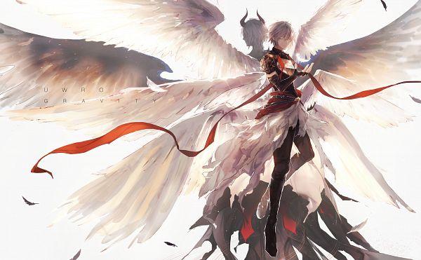 Tags: Anime, Pixiv Id 11059357, Granblue Fantasy, Lucifer (Shingeki no Bahamut), Pixiv, Fanart, Fanart From Pixiv