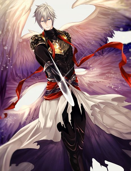Tags: Anime, Pixiv Id 7193000, Shingeki no Bahamut, Lucifer (Shingeki no Bahamut), Extra Wings, Pixiv, Fanart, Fanart From Pixiv