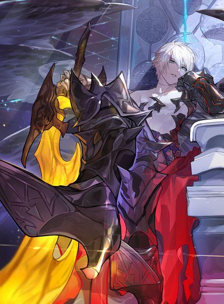 Tags: Anime, Pixiv Id 14456776, Granblue Fantasy, Lucilius (Granblue Fantasy), Fanart From Pixiv, Pixiv, Fanart