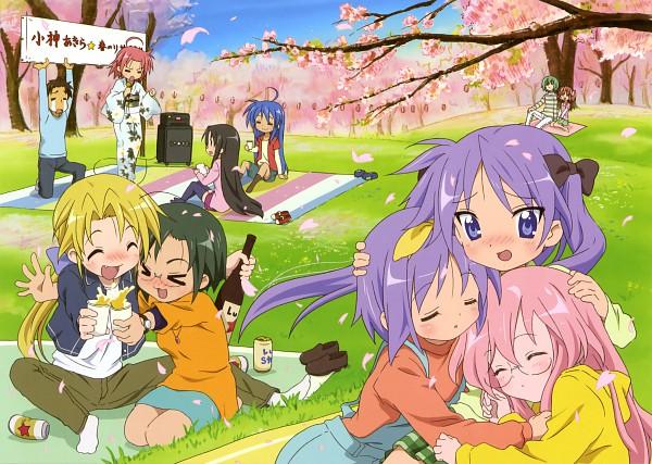 Tags: Anime, Akitake Seiichi, Kyoto Animation, Lucky☆Star, Kusakabe Misao (Lucky Star), Kogami Akira, Narumi Yui, Tamura Hiyori, Hiiragi Tsukasa, Kuroi Nanako, Shiraishi Minoru, Hiiragi Kagami, Iwasaki Minami
