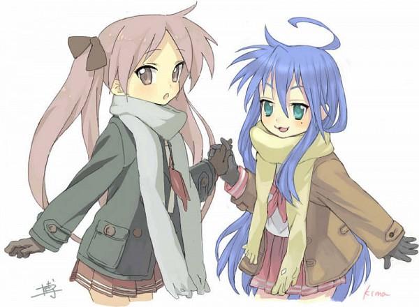 Tags: Anime, Lucky☆Star, Hiiragi Kagami, Izumi Konata
