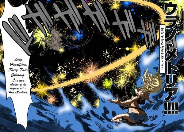 Tags: Anime, Mashima Hiro, FAIRY TAIL, Lucy Heartfilia, Artist Request, Colorization