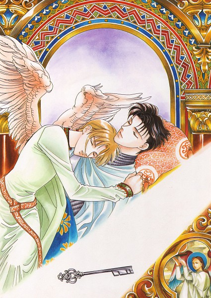Tags: Anime, Yuu Higuri, Ludwig II, Richard Hornig, Scan, Official Art