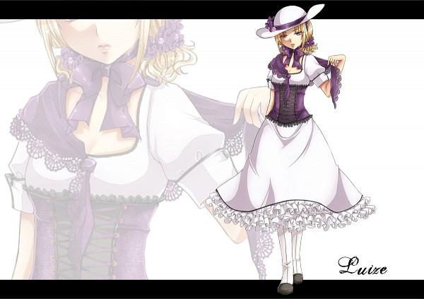 Tags: Anime, Kuroya Lily, Touhou, Luize, Laced Up, Pixiv, PC-98 Touhou Era, Fanart