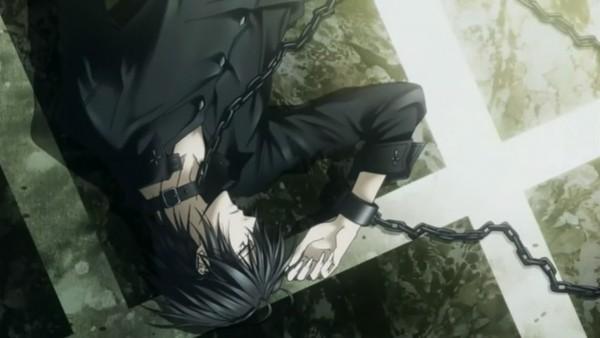 Tags: Anime, J.C.STAFF, Uragiri wa Boku no Namae wo Shitteiru, Luka Crosszeria, Shackles, Wallpaper, Facebook Cover, Screenshot