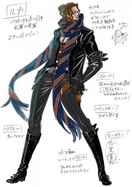 Tags: Anime, Bayonetta, Luka Redgrave, Mobile Wallpaper