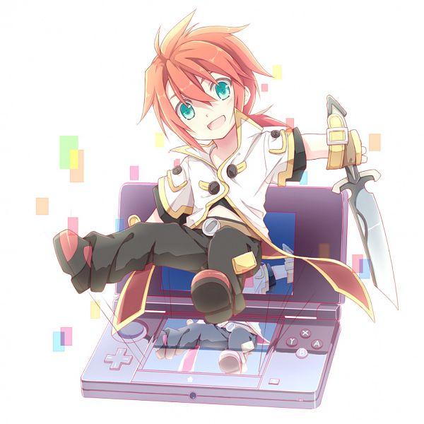Tags: Anime, Kinoshita Neko, Tales of the Abyss, Luke fon Fabre, Nintendo DS, Nintendo 3DS