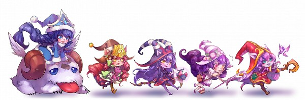 Tags: Anime, ippus, League of Legends, Poro (League of Legends), Lulu (League of Legends), Candy Cane, Alternate Skin Color, Cupcake, Purple Skin, Fanart, deviantART, PNG Conversion, Twitter Header