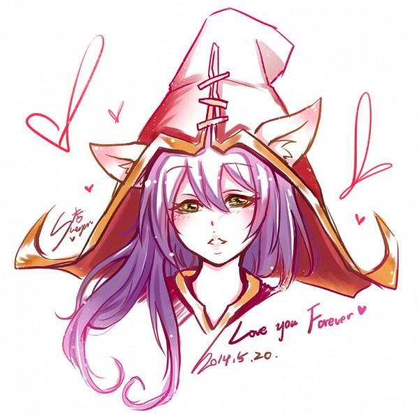 Tags: Anime, Sueyen, League of Legends, Lulu (League of Legends), Alternate Skin Color, Pixiv, Fanart