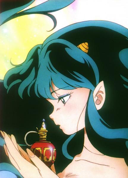 Tags: Anime, Nakajima Atsuko, Takahashi Rumiko, Urusei Yatsura, Lum, Mobile Wallpaper, Official Art, Scan