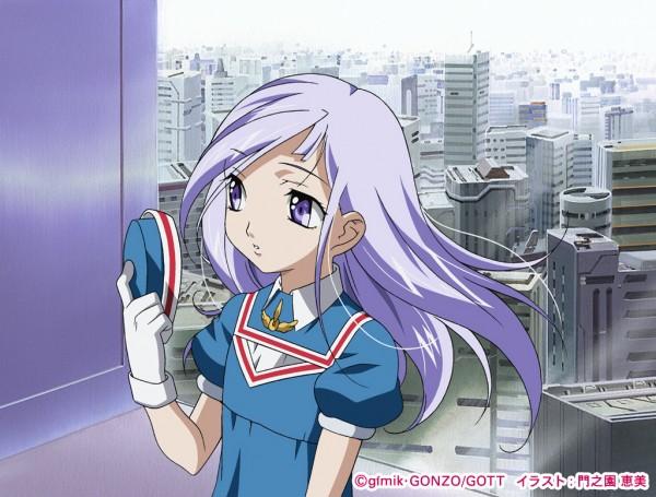 Tags: Anime, Kadonosono Megumi, Kiddy Grade, Lumière, Official Art, Wallpaper