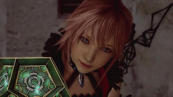 Tags: Anime, SQUARE ENIX, Final Fantasy XIII, Lumina (FFXIII), 3D, Screenshot, HD Wallpaper, Wallpaper, Facebook Cover