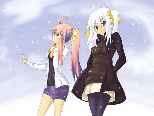 Tags: Anime, Luminous Arc, Lucia (Luminous Arc), Althea, Artist Request