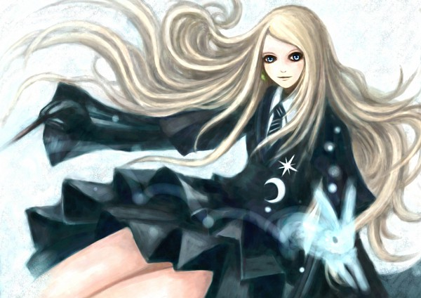 Tags: Anime, Pixiv Id 2979108, Harry Potter, Luna Lovegood, Expecto Patronum, Ravenclaw House