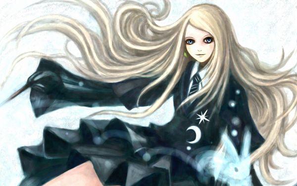 Tags: Anime, Pixiv Id 2979108, Harry Potter, Luna Lovegood, Expecto Patronum, V-neck, Wallpaper