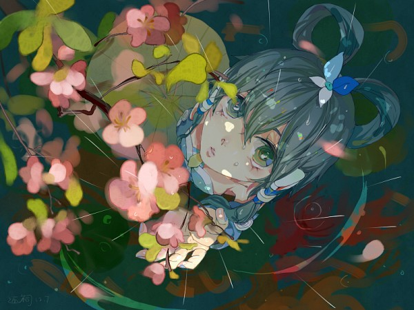 Tags: Anime, Pixiv Id 1064973, VOCALOID, Luo Tianyi, Fanart From Pixiv, Pixiv, Fanart