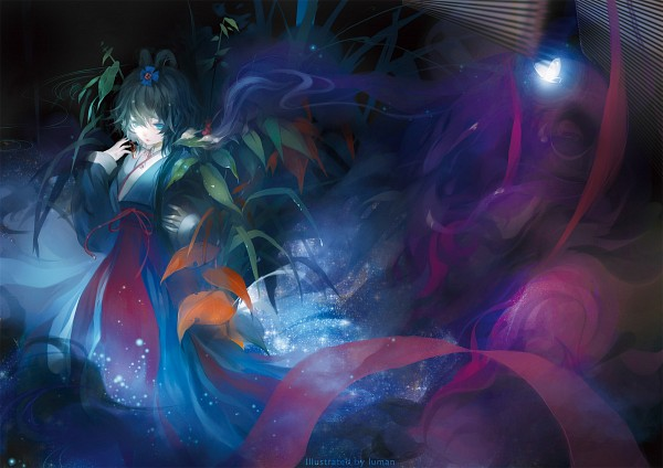 Tags: Anime, Pixiv Id 1989010, VOCALOID, Luo Tianyi, Fanart, Pixiv