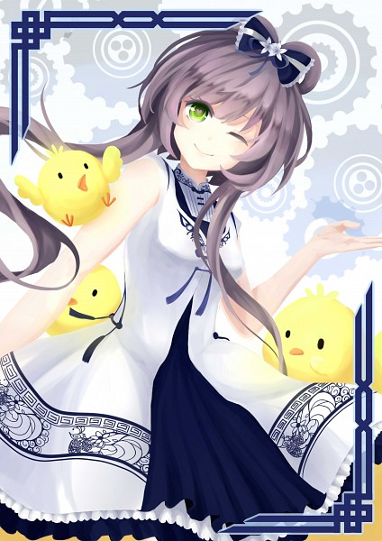 Tags: Anime, Pixiv Id 5780438, VOCALOID, Luo Tianyi, Little Bird, Fanart, Fanart From Pixiv, Pixiv