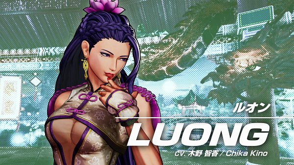 Tags: Anime, SNK, The King of Fighters, Luong, Screenshot, Wallpaper, Twitter