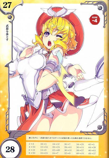 Tags: Anime, Akaga Hirotaka, Queen's Blade Rebellion, Queen's Blade Rebellion Competitive Visual Book - Lyla, Lyla, Official Art