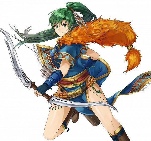 Tags: Anime, Kamuuei, Fire Emblem: Rekka no Ken, Lyn (Fire Emblem)