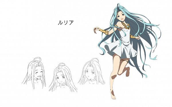 Tags: Anime, Akai Toshifumi, A-1 Pictures, Granblue Fantasy The Animation, Granblue Fantasy, Lyria (Granblue Fantasy), Official Art, Wallpaper