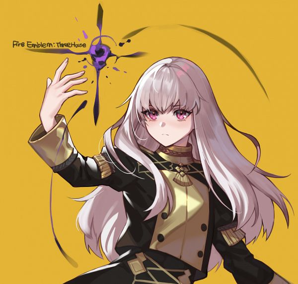 Tags: Anime, Elran02, Fire Emblem: Fuuka Setsugetsu, Lysithea von Cordelia, Using Magic, Pixiv, Fanart, Fanart From Pixiv