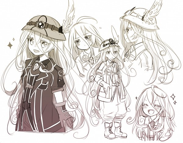 Tags: Anime, Made in Abyss, Lyza (Made in Abyss), Twitter, Artist Request, Fanart, White Whistles