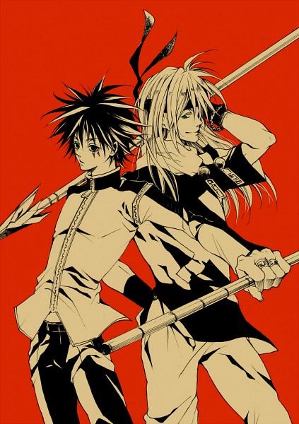 Tags: Anime, MÄR, Nanashi (MÄR), Alviss