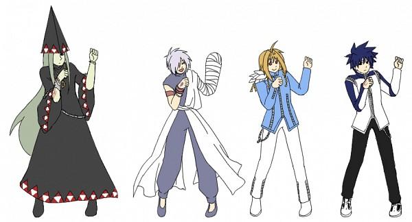 Tags: Anime, Pixiv Id 3327197, MÄR, Phantom (MÄR), Rolan (MÄR), Peta (MÄR), Alviss